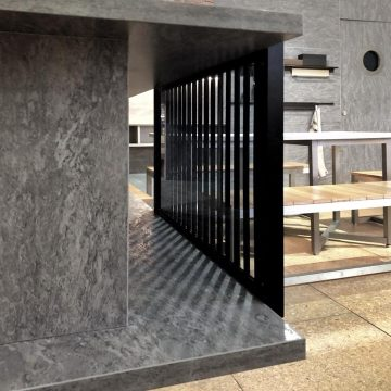 Unveiling the New AD1 aluminium frame glass furniture door with invisible hinges