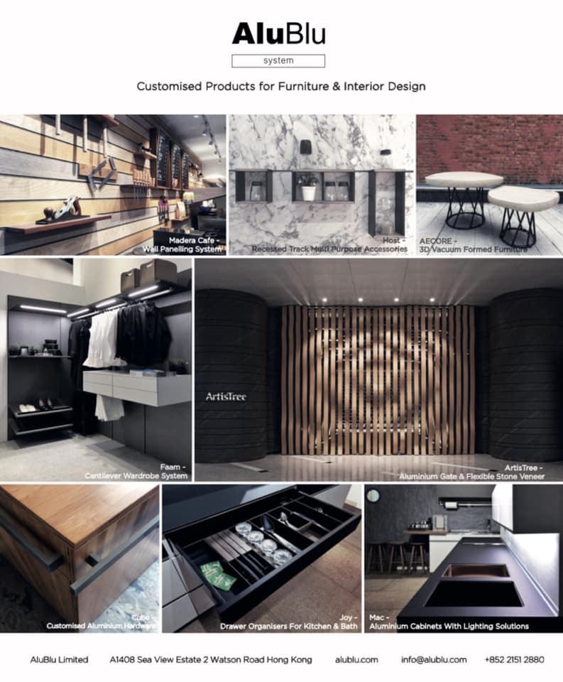 AluBlu • system • Designer's Creations Come True