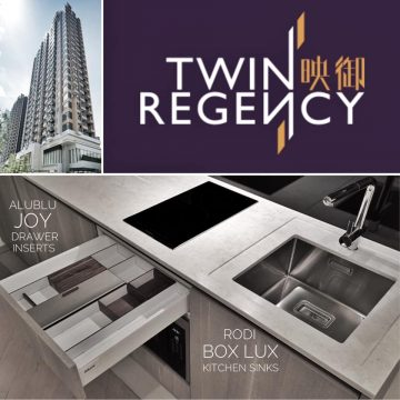 "AluBlu + RODi at SHK's Hotel Style Apartments ""Twin Regency"" Yuen Long HK"