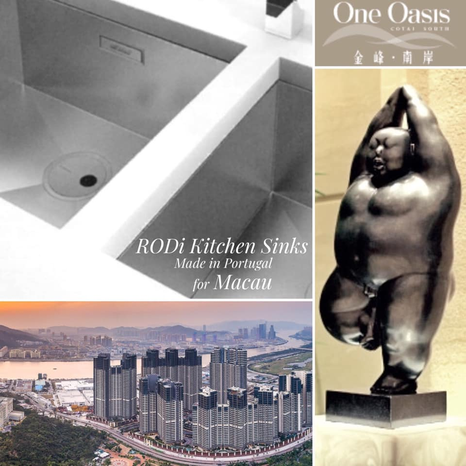 RODi Kitchen Sinks • Made in Portugal for Macau One Oasis Apartments