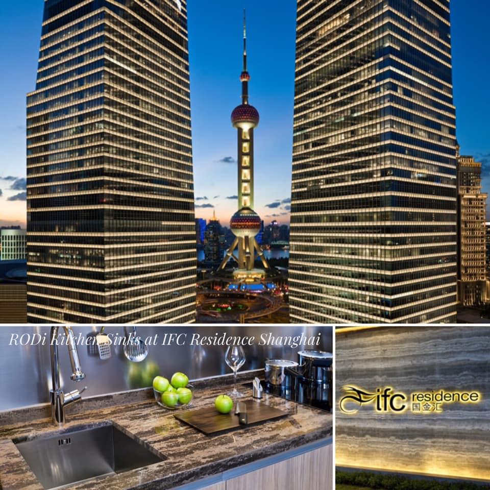 RODi Kitchen Sinks at IFC Residence Shanghai