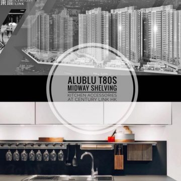 AluBlu TS Midway Shelving at Century Link HK