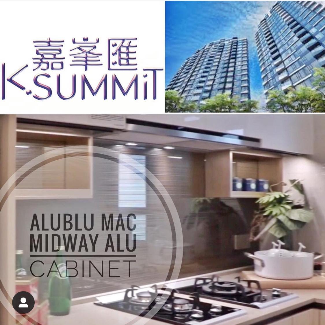 AluBlu MAC Midway Cabinet at K.Summit HK